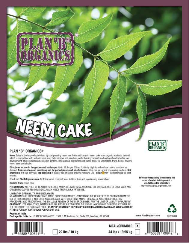 How To Use Neem Cake For Potted Plants
